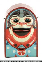Monkey Face Mechanical Bank