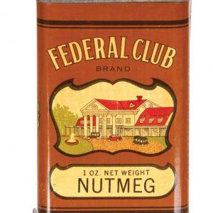 Federal Club Spice Tin