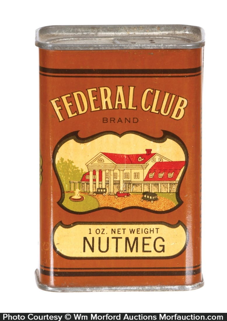 Federal Club Spice Tin