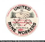 United Mine Workers Pocket Mirror