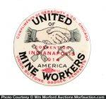 United Mine Workers Pocket Mirror