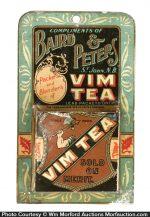 Vim Tea Match Holder