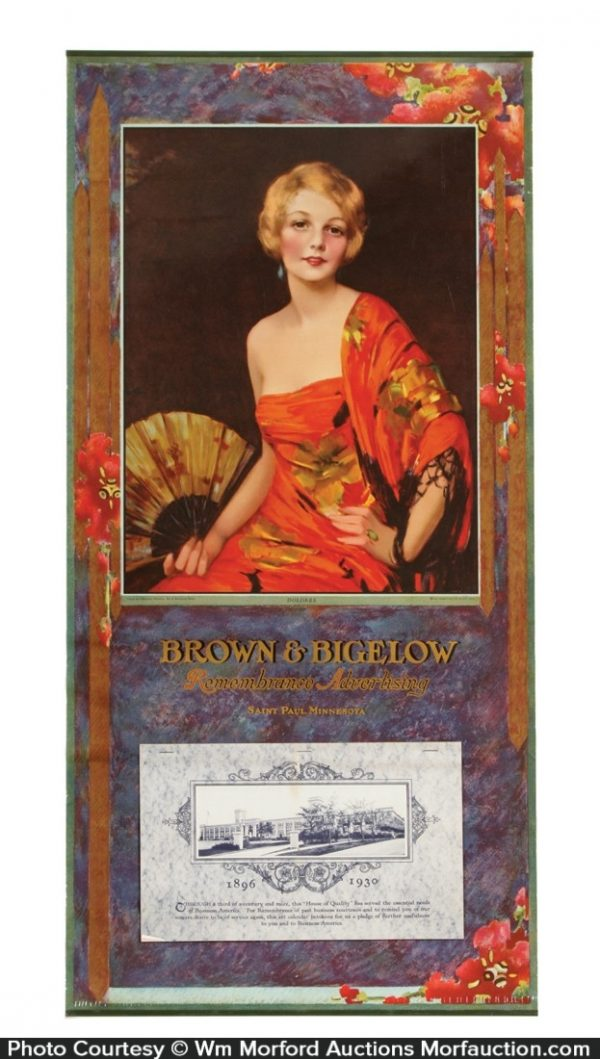 1930 Brown & Bigelow Art Calendar