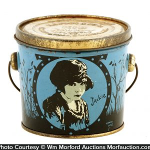 Jackie Coogan Kid Candy Pail