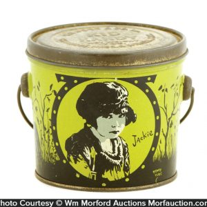 Jackie Coogan Kid Candy Tin