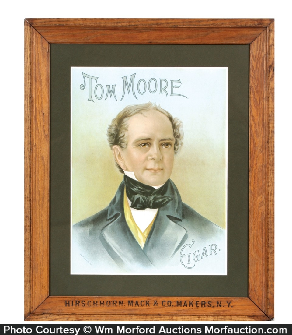 Tom Moore Cigars Sign