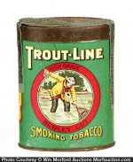 Trout Line Tobacco Tin