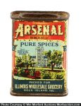 Arsenal Spice Tin