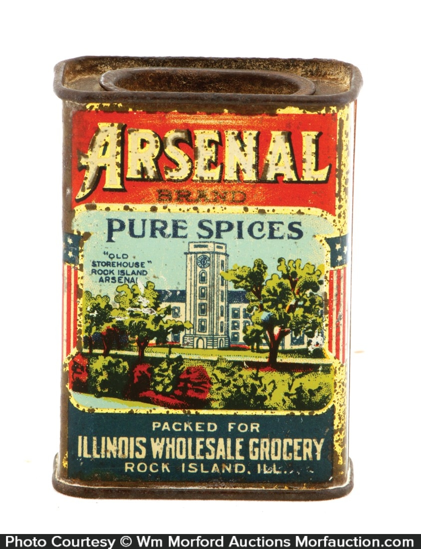 Arsenal Spice Tin