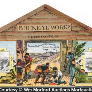 Buckeye Works Harvesters Folding Ad