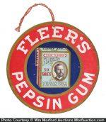Fleer's Pepsin Gum Sign