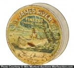 James River Chewing Tobacco Tin
