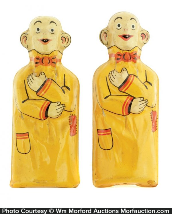 Pulver Chewing Gum Yellow Kid Figure