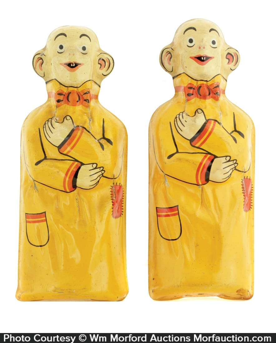 Pulver Chewing Gum Yellow Kid Figure
