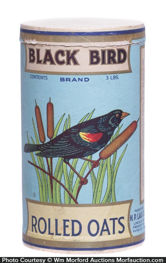Black Bird Oat Box