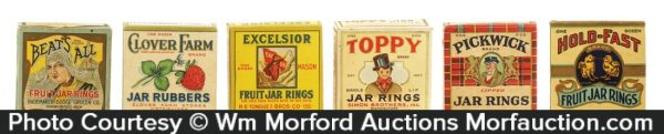 Vintage Jar Rubbers Boxes