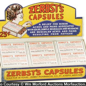 Zerbst's Capsules Display