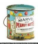 Marvel Peanut Butter Pail