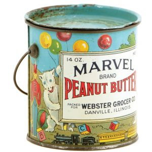 Marvel Peanut Butter Pail