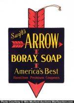 Arrow Borax Soap Sign