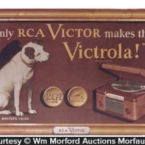 Rca Victor Victrola Sign