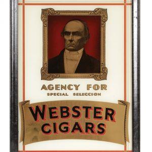 Webster Cigars Sign