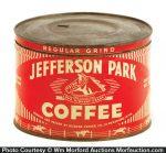 Jefferson Park Coffee Can