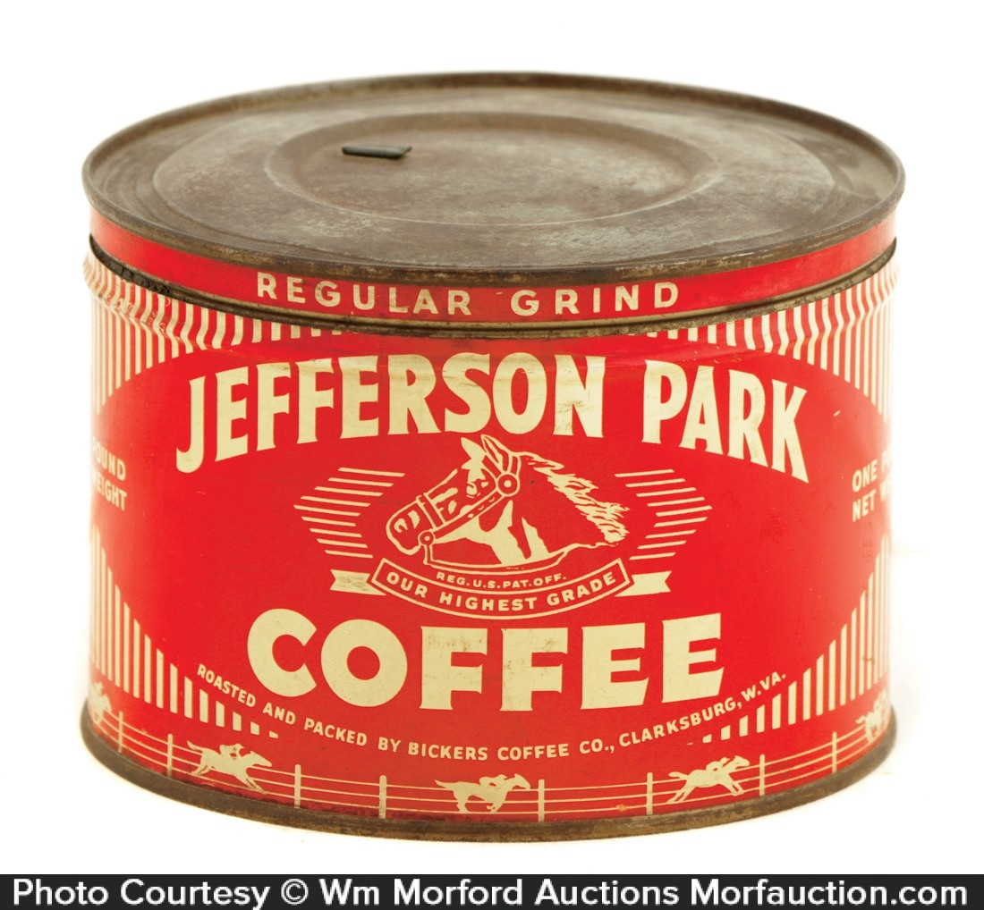 Jefferson Park Coffee Can