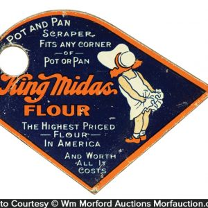 King Midas Flour Pot Scraper