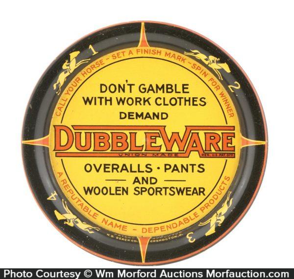 Dubbleware Overalls Tray