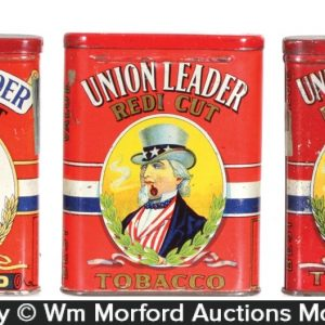 Union Leader Tobacco Tins