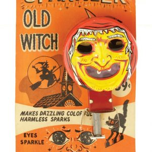 Old Witch Halloween Sparkler Toy