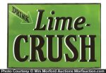 Lime Crush Sign