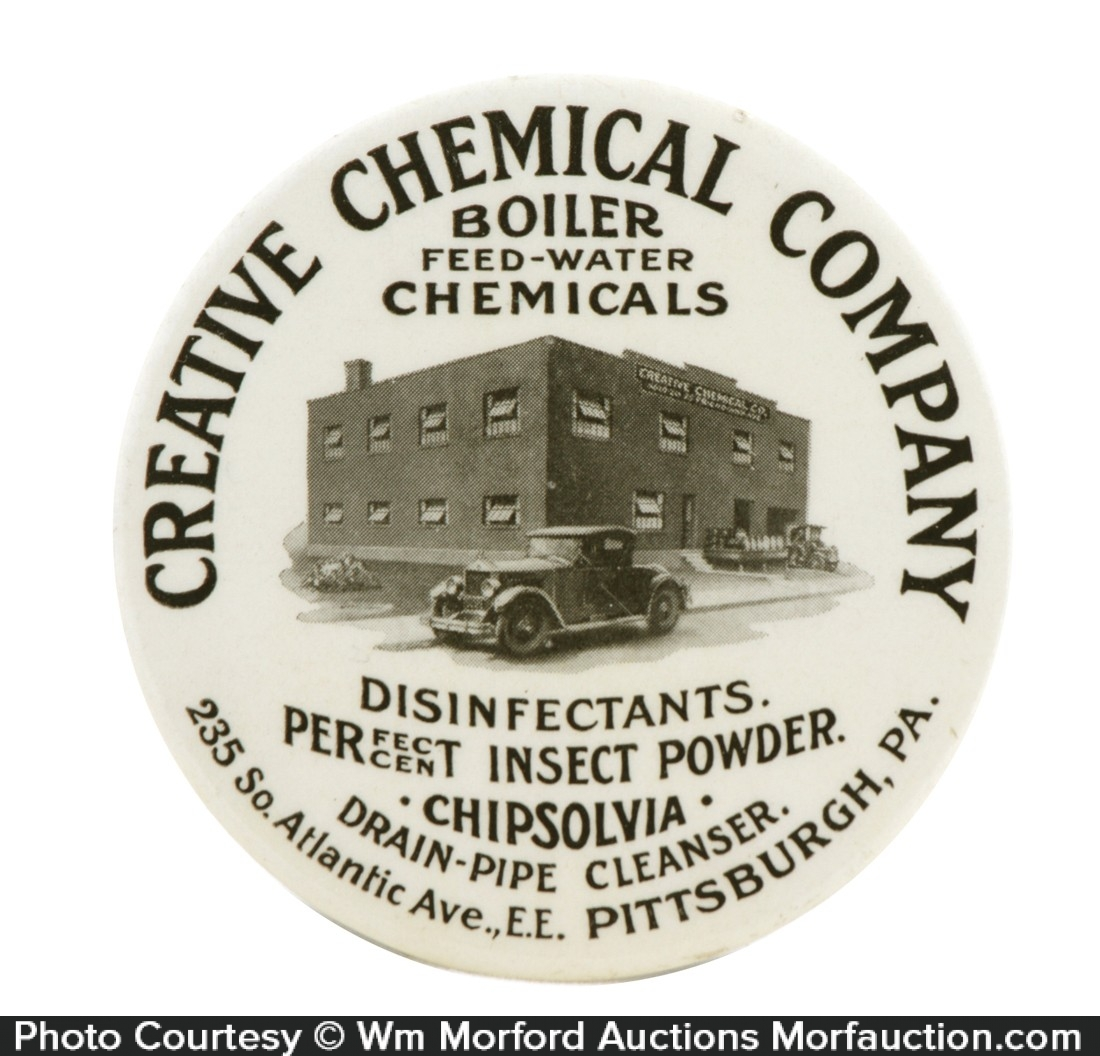 Creative Chemical Company Paperweight Mirror