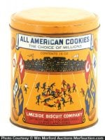 All American Cookies Tin