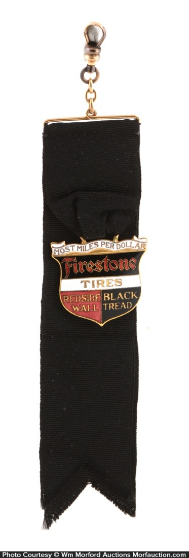 Firestone Tires Watch Fob