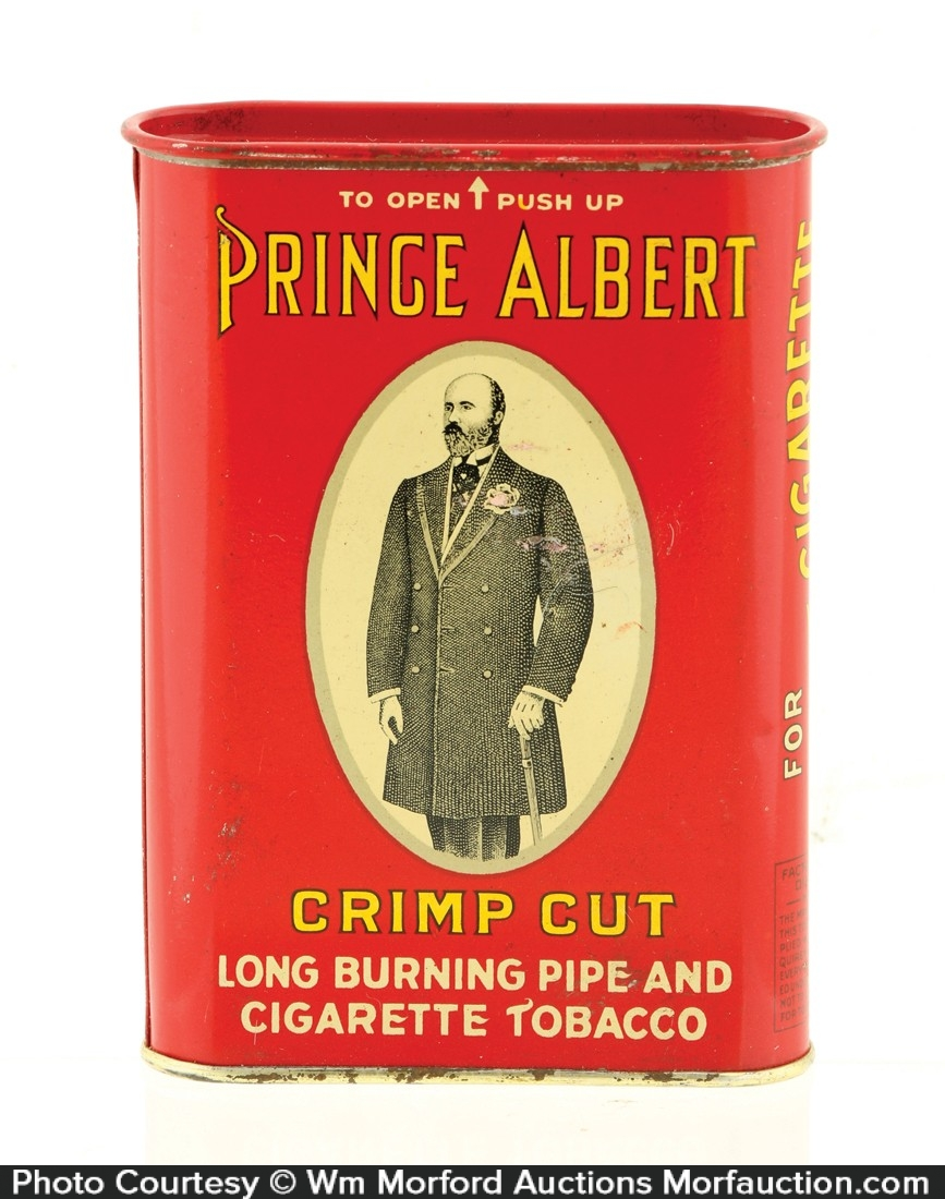 Prince Albert Panama Railroad Tobacco Tin