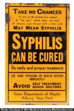 Syphilis Cure Sign