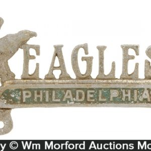 Philadelphia Eagles License Plate Topper