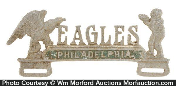 Philadelphia Eagles License Plate Topper