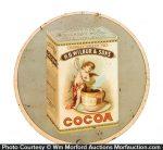 Wilbur's Cocoa Sign