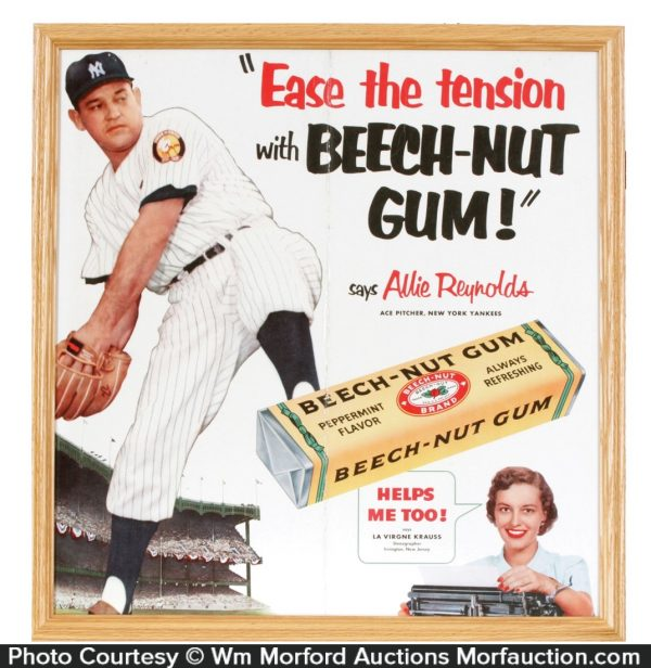 Beech-Nut Gum Sign
