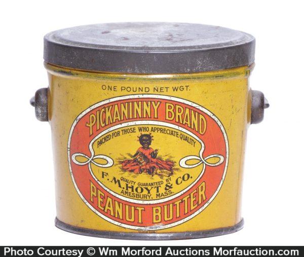 Pickaninny Peanut Butter Pail