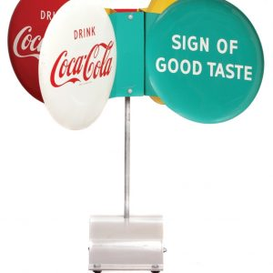 Coke Spinner Sign