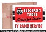 Rca Electron Tubes Sign