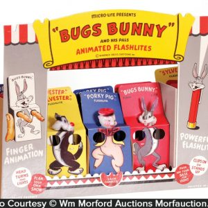 Bugs Bunny Flashlights Display