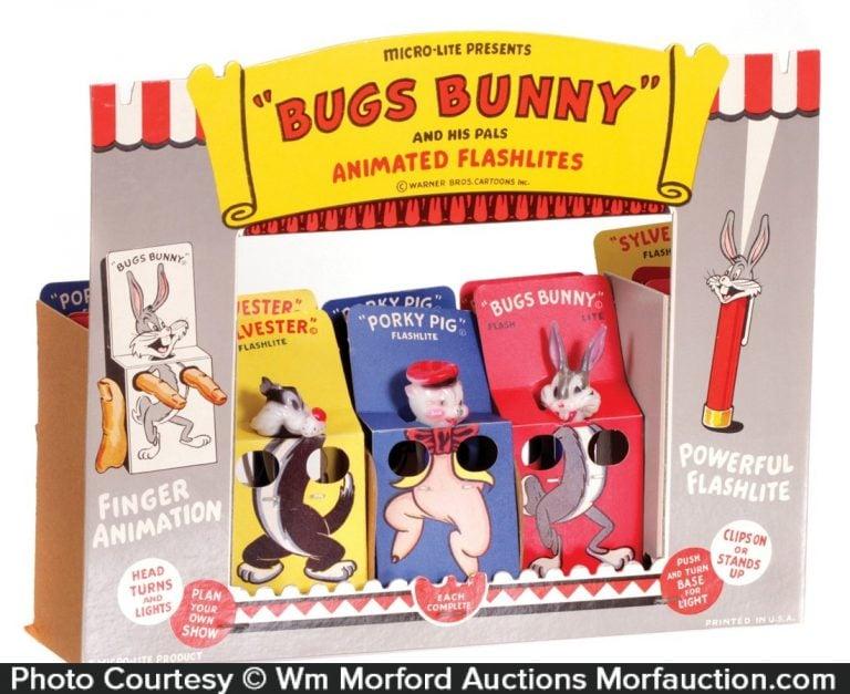 Bugs Bunny Flashlights Display