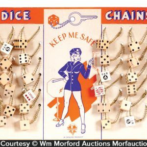 Dice Key Chain Display