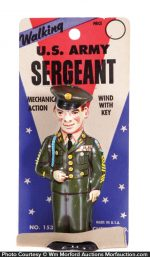 Chein U.S. Army Sergeant Wind-Up Toy