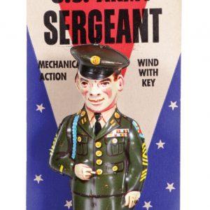 Chein U.S. Army Sergeant Wind-Up Toy